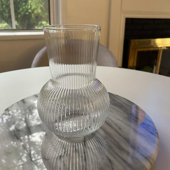 Cb2 Glass vase